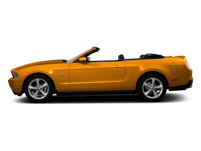 Yellow Blaze Metallic Tri-Coat 2011 Ford Mustang Pictures Mustang Convertible 2D GT photos side view