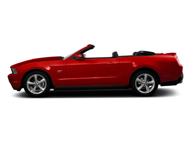 Red Candy Metallic 2011 Ford Mustang Pictures Mustang Convertible 2D GT photos side view
