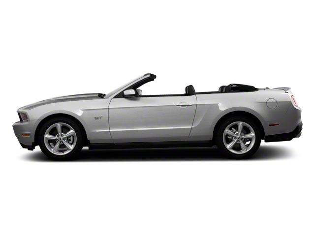 Ingot Silver Metallic 2011 Ford Mustang Pictures Mustang Convertible 2D GT photos side view