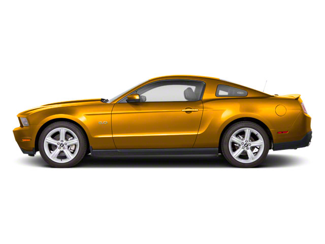 Yellow Blaze Metallic Tri-Coat 2011 Ford Mustang Pictures Mustang Coupe 2D GT photos side view