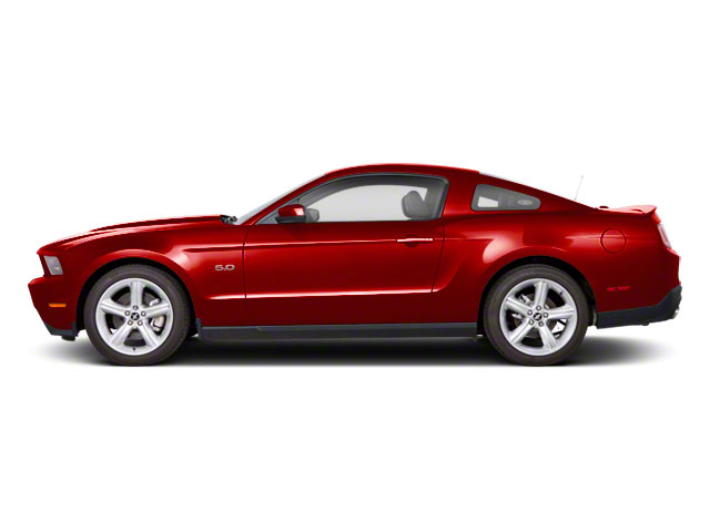 Red Candy Metallic 2011 Ford Mustang Pictures Mustang Coupe 2D GT photos side view