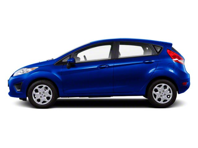 Blue Flame Metallic 2011 Ford Fiesta Pictures Fiesta Hatchback 5D SE photos side view
