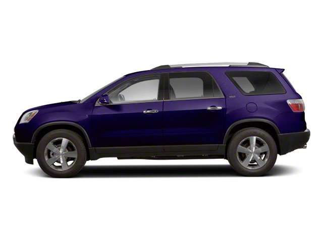 Deep Blue Metallic 2011 GMC Acadia Pictures Acadia Wagon 4D SLE AWD photos side view