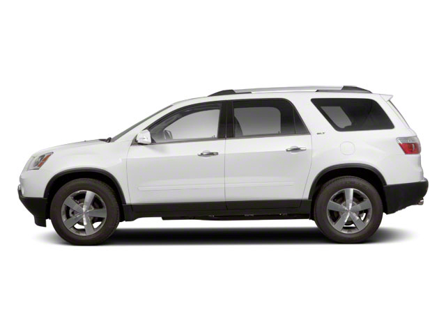 Summit White 2011 GMC Acadia Pictures Acadia Wagon 4D SLE AWD photos side view