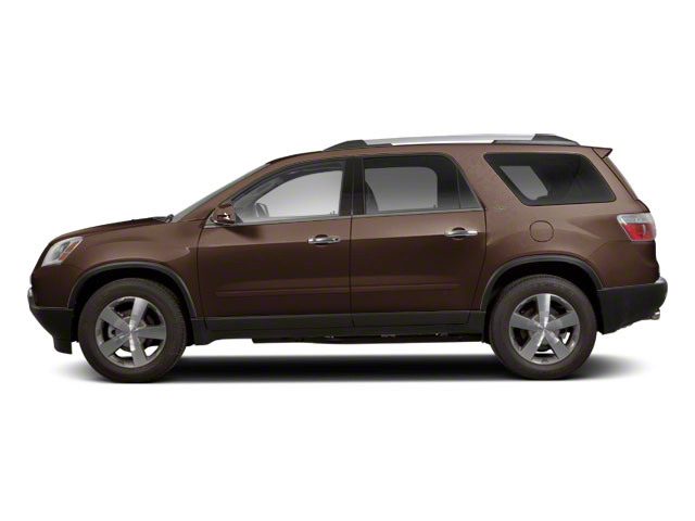 Medium Brown Metallic 2011 GMC Acadia Pictures Acadia Wagon 4D SLE AWD photos side view
