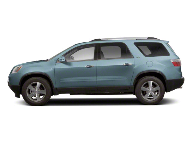 Ice Blue Metallic 2011 GMC Acadia Pictures Acadia Wagon 4D SLE AWD photos side view