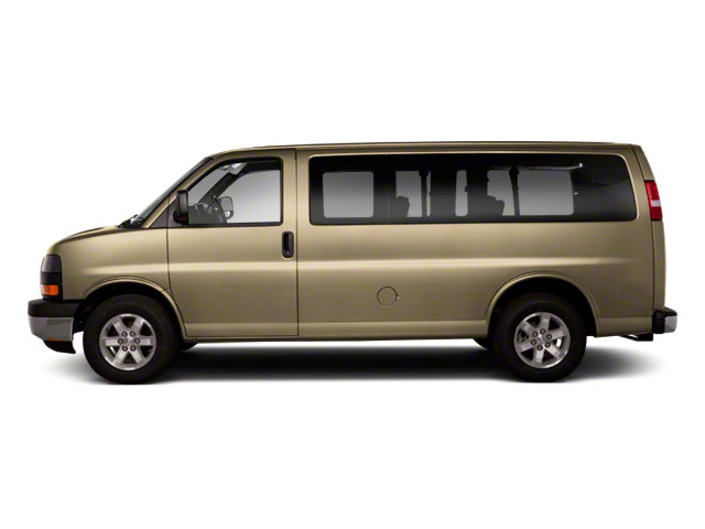 Sand Beige Metallic 2011 GMC Savana Passenger Pictures Savana Passenger Savana LS 135 photos side view
