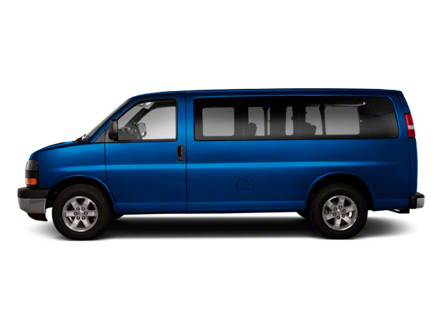 Deep Blue Metallic 2011 GMC Savana Passenger Pictures Savana Passenger Savana LS 135 photos side view
