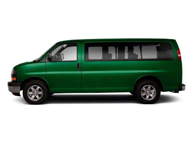 Polo Green Metallic 2011 GMC Savana Passenger Pictures Savana Passenger Savana LS 135 photos side view