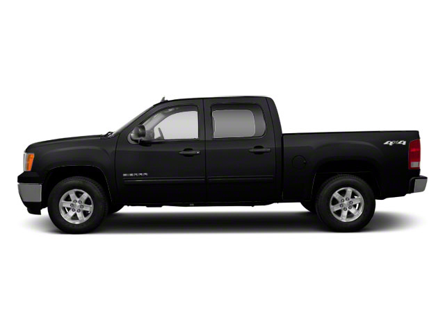 Onyx Black 2011 GMC Sierra 1500 Pictures Sierra 1500 Crew Cab SLE 2WD photos side view
