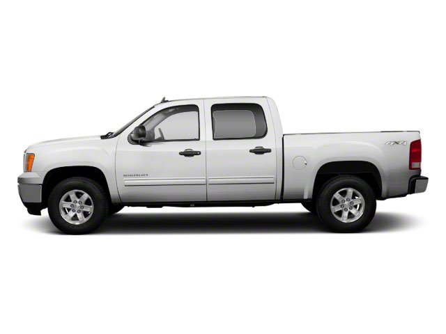 White Diamond Tricoat 2011 GMC Sierra 1500 Pictures Sierra 1500 Crew Cab SLE 2WD photos side view