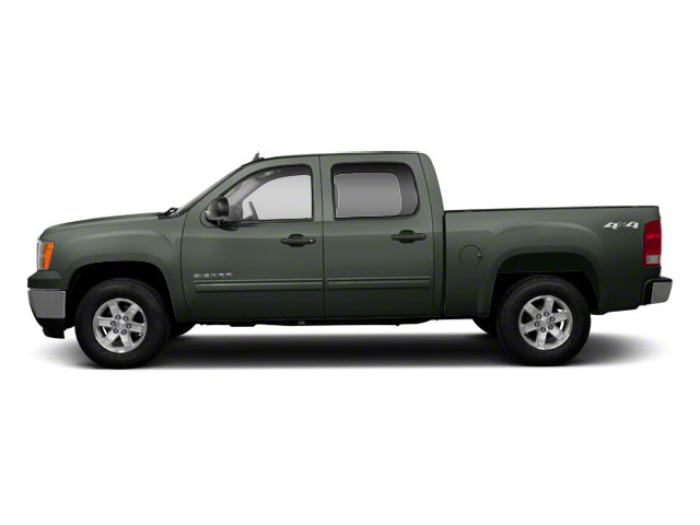 Gray Green Metallic 2011 GMC Sierra 1500 Pictures Sierra 1500 Crew Cab SLE 2WD photos side view