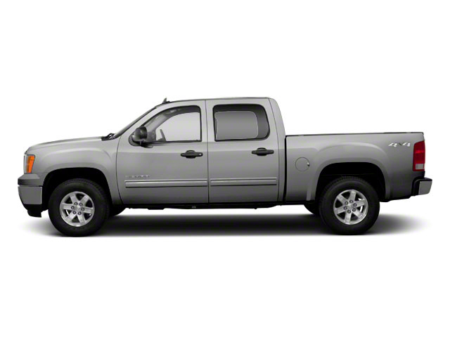 Pure Silver Metallic 2011 GMC Sierra 1500 Pictures Sierra 1500 Crew Cab SLE 2WD photos side view