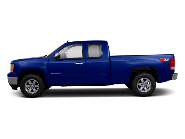 Laser Blue Metallic 2011 GMC Sierra 1500 Pictures Sierra 1500 Extended Cab SLT 4WD photos side view