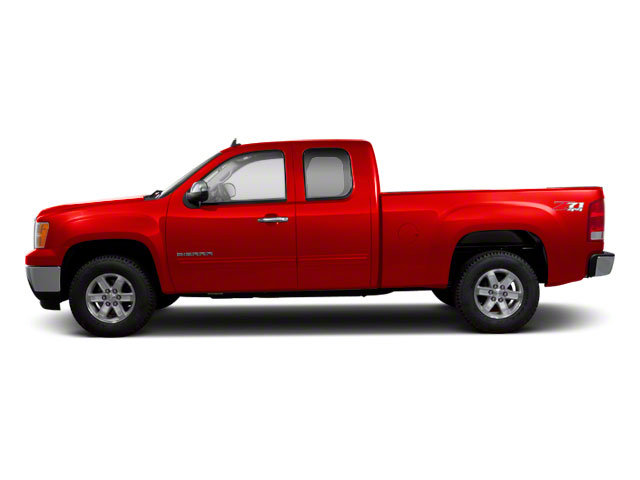 Fire Red 2011 GMC Sierra 1500 Pictures Sierra 1500 Extended Cab SL 4WD photos side view