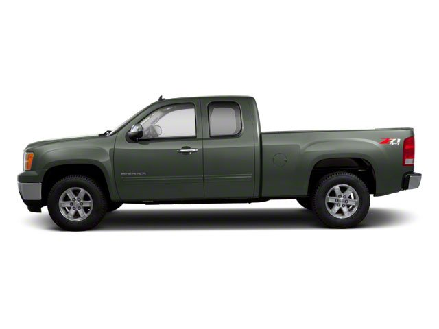Gray Green Metallic 2011 GMC Sierra 1500 Pictures Sierra 1500 Extended Cab SL 4WD photos side view