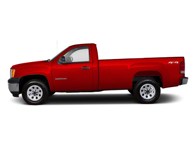 Fire Red 2011 GMC Sierra 1500 Pictures Sierra 1500 Regular Cab SLE 4WD photos side view