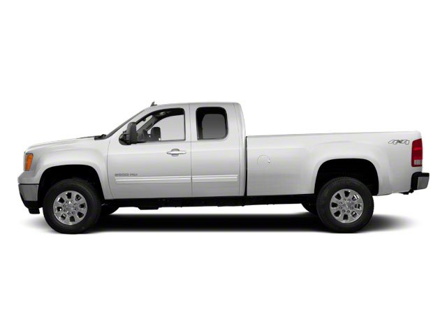Summit White 2011 GMC Sierra 2500HD Pictures Sierra 2500HD Extended Cab SLE 4WD photos side view
