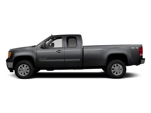 Storm Gray Metallic 2011 GMC Sierra 2500HD Pictures Sierra 2500HD Extended Cab SLE 4WD photos side view