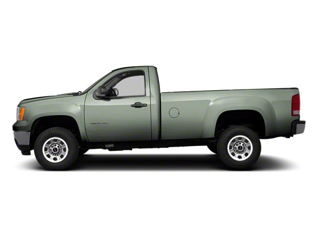 Gray Green Metallic 2011 GMC Sierra 3500HD Pictures Sierra 3500HD Regular Cab SLE 2WD photos side view