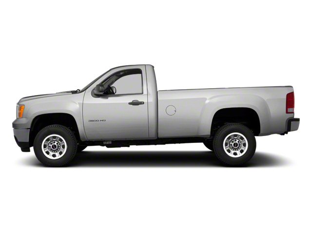 Pure Silver Metallic 2011 GMC Sierra 3500HD Pictures Sierra 3500HD Regular Cab SLE 2WD photos side view