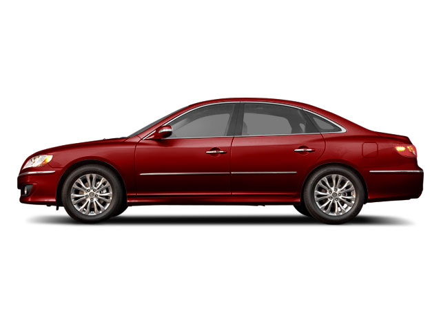 Venetian Red Pearl 2011 Hyundai Azera Pictures Azera Sedan 4D Limited photos side view
