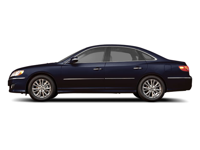 Midnight Blue Pearl 2011 Hyundai Azera Pictures Azera Sedan 4D Limited photos side view