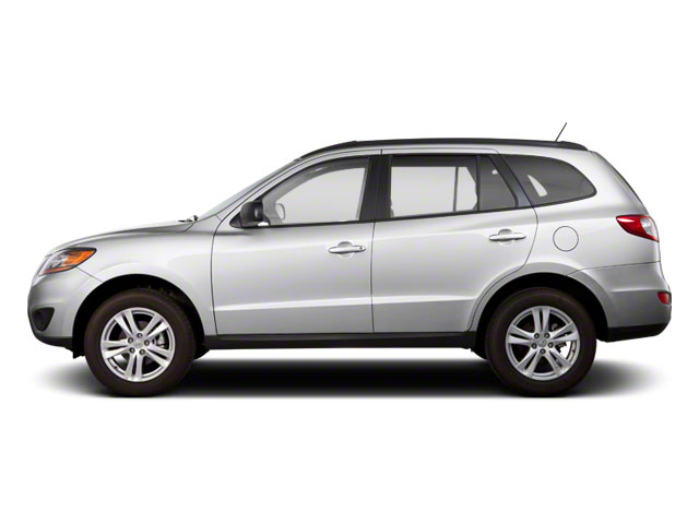 Moonstone Silver 2011 Hyundai Santa Fe Pictures Santa Fe Utility 4D GLS 2WD photos side view
