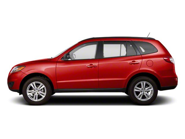 Sonoran Red 2011 Hyundai Santa Fe Pictures Santa Fe Utility 4D GLS 2WD photos side view