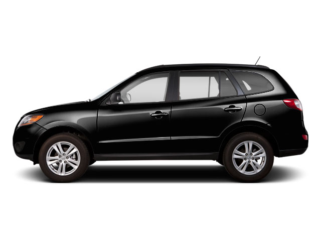 Twilight Black 2011 Hyundai Santa Fe Pictures Santa Fe Utility 4D Limited AWD photos side view
