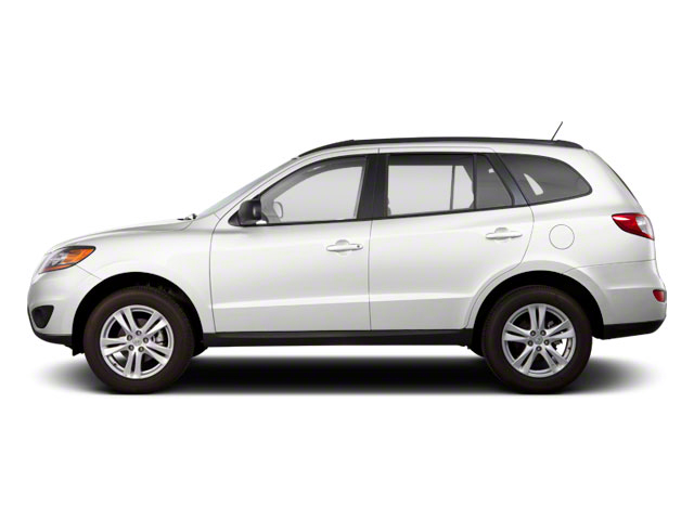 Frost White Pearl 2011 Hyundai Santa Fe Pictures Santa Fe Utility 4D GLS 2WD photos side view