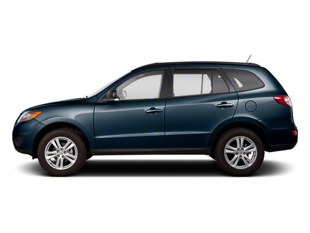 Pacific Blue Pearl 2011 Hyundai Santa Fe Pictures Santa Fe Utility 4D GLS 2WD photos side view