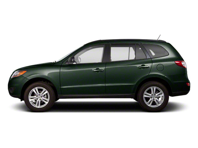 Black Forest Green 2011 Hyundai Santa Fe Pictures Santa Fe Utility 4D GLS 2WD photos side view