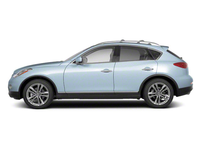 Arctic Blue 2011 INFINITI EX35 Pictures EX35 Wagon 4D AWD photos side view