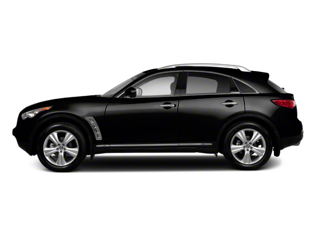 Malbec Black 2011 INFINITI FX50 Pictures FX50 FX50 AWD photos side view