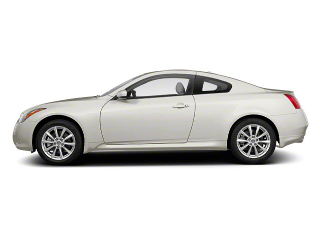 Moonlight White 2011 INFINITI G37 Coupe Pictures G37 Coupe 2D 6 Spd photos side view