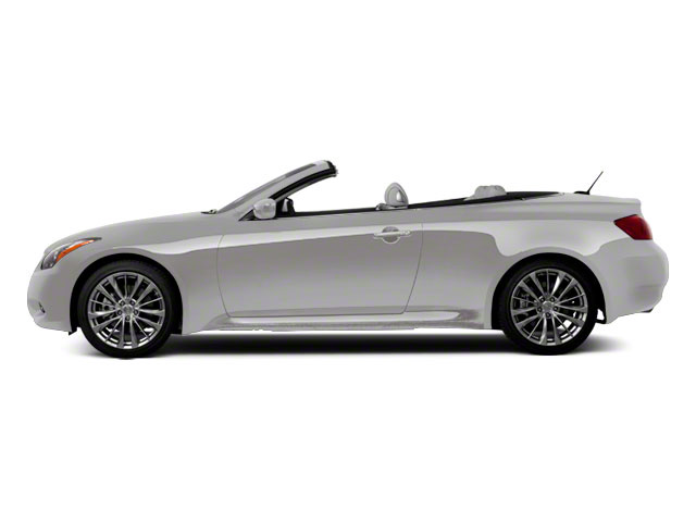 Liquid Platinum 2011 INFINITI G37 Convertible Pictures G37 Convertible Convertible 2D 6 Spd photos side view