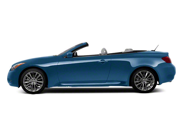 Lapis Blue 2011 INFINITI G37 Convertible Pictures G37 Convertible Convertible 2D 6 Spd photos side view