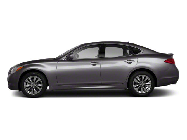 Platinum Graphite 2011 INFINITI M37 Pictures M37 Sedan 4D photos side view