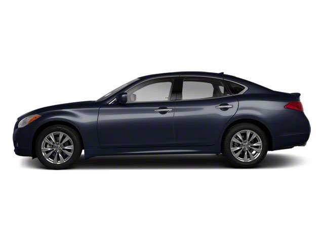 Blue Slate 2011 INFINITI M37 Pictures M37 Sedan 4D photos side view