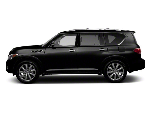 Black Obsidian 2011 INFINITI QX56 Pictures QX56 Utility 4D 2WD photos side view