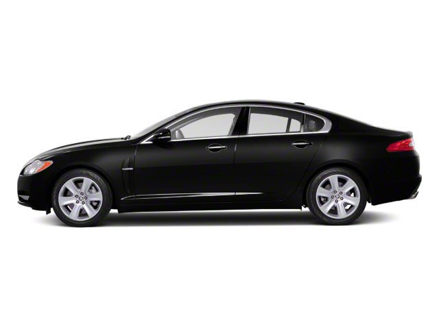 Ebony 2011 Jaguar XF Pictures XF Sedan 4D photos side view
