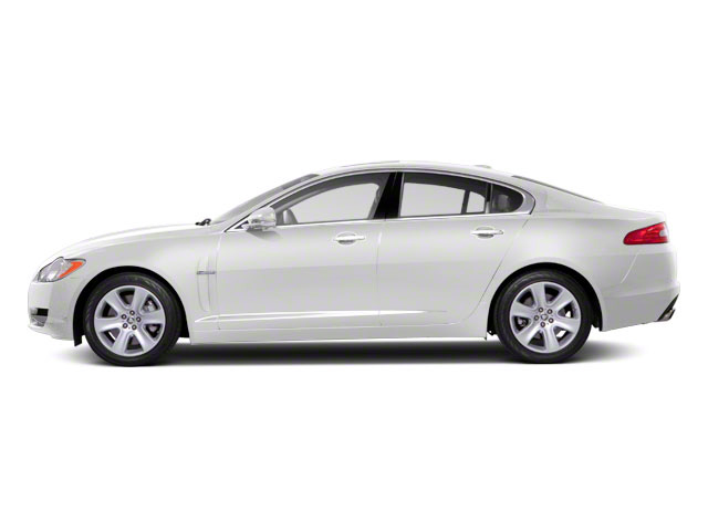 Polaris White 2011 Jaguar XF Pictures XF Sedan 4D XFR Supercharged photos side view