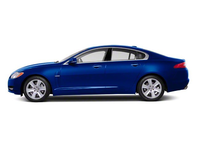 Spectrum Blue 2011 Jaguar XF Pictures XF Sedan 4D XFR Supercharged photos side view