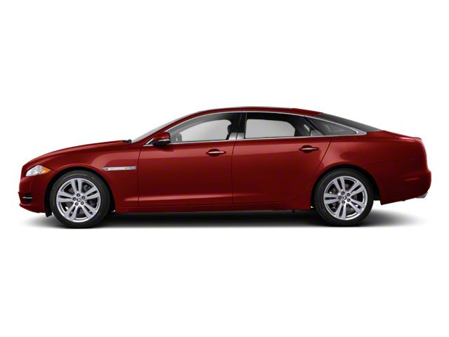 Claret 2011 Jaguar XJ Pictures XJ Sedan 4D L Supersport photos side view