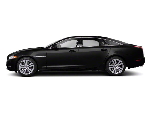 Ebony 2011 Jaguar XJ Pictures XJ Sedan 4D L Supersport photos side view