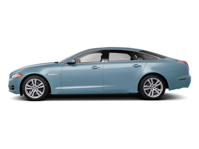 Frost Blue 2011 Jaguar XJ Pictures XJ Sedan 4D L Supersport photos side view