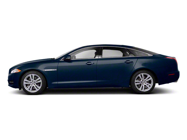 Indigo Blue 2011 Jaguar XJ Pictures XJ Sedan 4D L Supersport photos side view