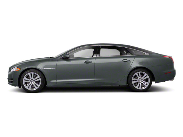 Lunar Grey 2011 Jaguar XJ Pictures XJ Sedan 4D L Supersport photos side view