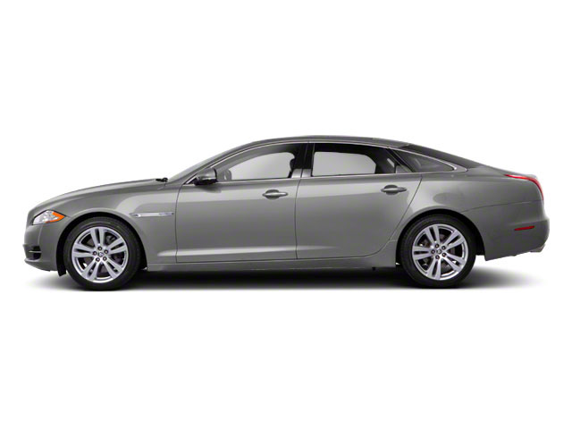Liquid Silver 2011 Jaguar XJ Pictures XJ Sedan 4D L Supersport photos side view